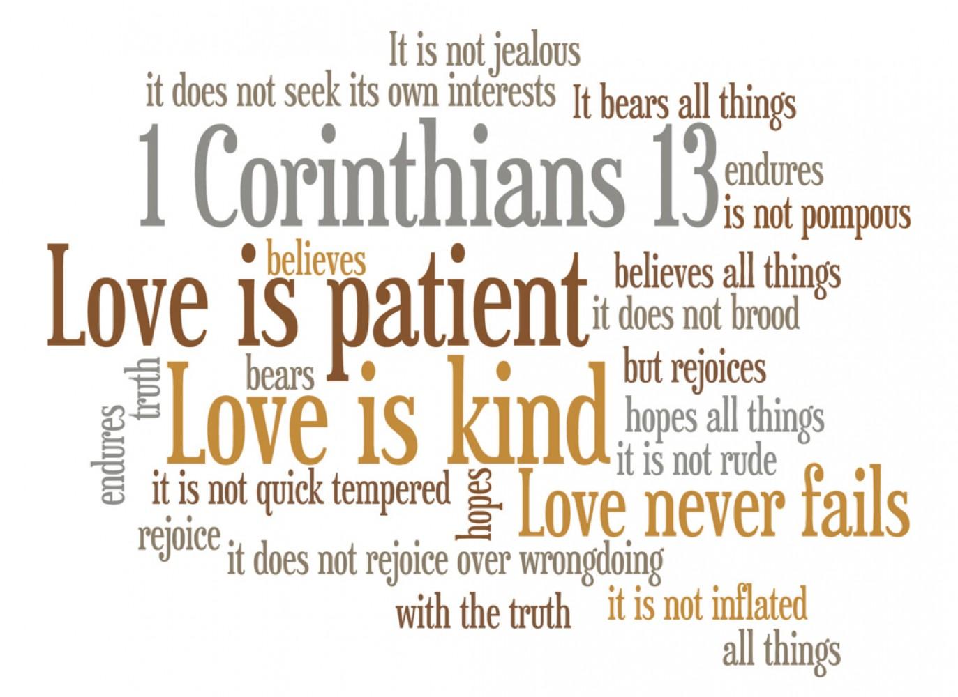 Sermon \ Pastor Terry Defoe \ Stewardship Initiative \ I Cor 13:13 \ Building Relationships