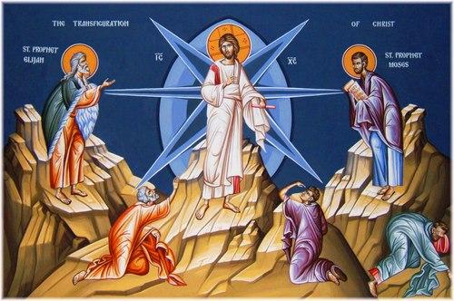 Sermon for Transfiguration/ Vicar James Preus/ Mount Olive Lutheran Church/ Jesus Shines His Glory On Us Through His Cross