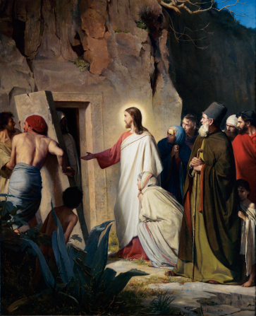 Sunday School Parent Connection:  Apr 6 - Jesus Raises Lazarus - Image 2