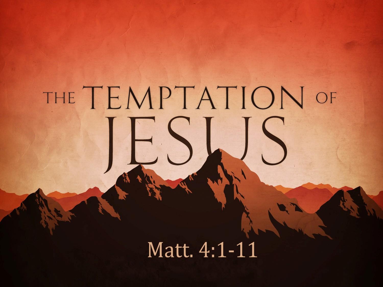 Sunday School Parent Connection:  Mar 9 - The Temptation of Jesus - Image 1