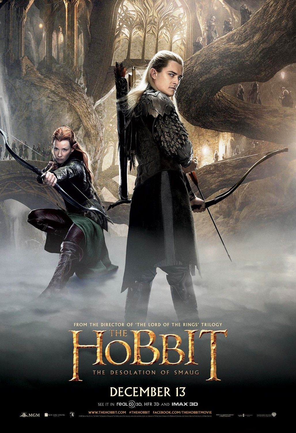 The Hobbit: The Desolation of Smaug (2013) Directed By: Peter Jackson - Movie Review - Image 1