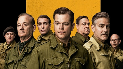 The Monuments Men (2014) Directed By: George Clooney - Movie Review