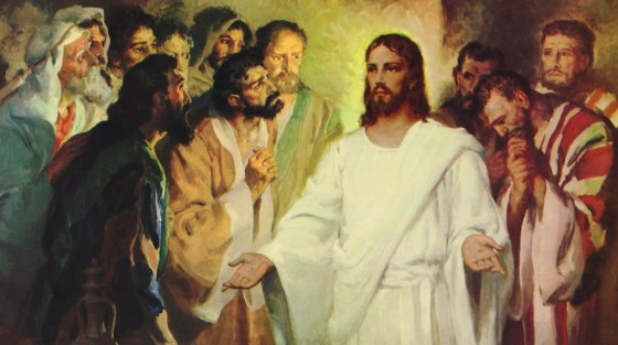 The Risen Christ Jesus Speaks, Eats & Sends His Disciples / Sermon / Pr. Ted Giese / Season of Easter / April 15th 2018 - / Luke 24:36-49 - Image 3