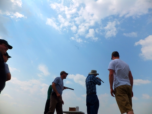 Video From The Mount Olive Men's Trap Shooting Event - July 12th 2014