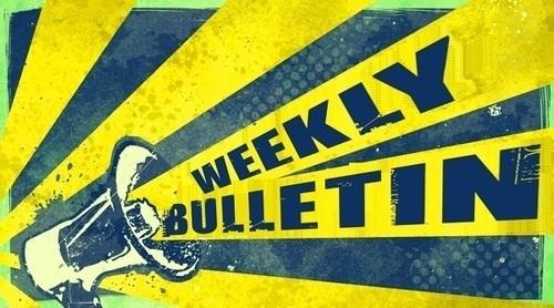 Weekly Bulletin April 20th