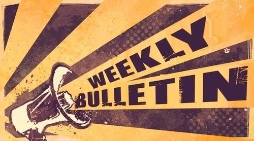 Weekly Bulletin May 25th
