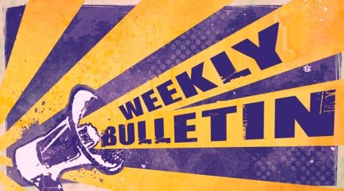 Weekly Bulletin Sunday June 9th