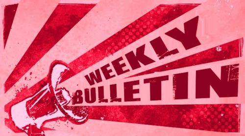 Weekly Bulletin Sunday May 19th