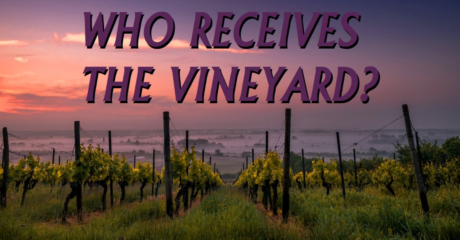 """Who Receives the Vineyard?"" Sermon / Luke20:9-20 / Pr. Ted A. Giese / Sunday April 7th 2019 / Season Of Lent / Mount Olive Lutheran Church"