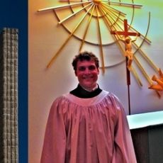 Rev. Ted Giese Meets Mount Olive�s New Vicar, James Preus from CLTS.