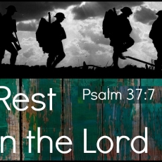 Fret Not - Rest In The LORD - Psalm 37 Sermon From October 2014 Prayer Service