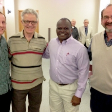 Richie Hall Speaks at Lutheran Laymen�s League Fundraising Supper