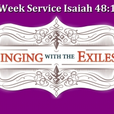 Lenten Midweek Sermon \ Isaiah 48:17-22 \ Get Out! \ Pastor Terry Defoe