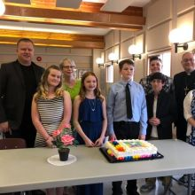 Confirmation Family Night 2019 - Presentation of Papers by Catechumens written on the Six Chief Parts of the Small Catechism