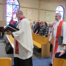 Rev. Lucas Andre Albrecht's Installation Service, February 12th, 2017