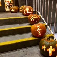 Reformation Open House / Eve of All Saints Day 2019 Pumpkins and Decorations.