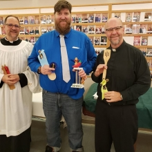 Church Worker Chili Cook off champion: 1st Deacon Doug Wilson, 2nd Pastor Arron Gust, 3rd Pastor Daryl Solie