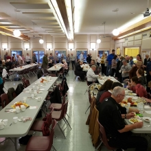 Wascana Circuit Pastors and Church Workers' Chili cook-off tonight September 29th Feast of St. Michael and All Angels
