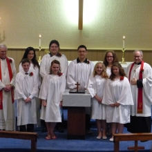 Confirmation of Baptism 2015
