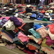 Clothing Give Away September 2015