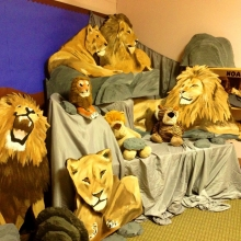 Daniel and the Lion's Den Sunday School Room 2013