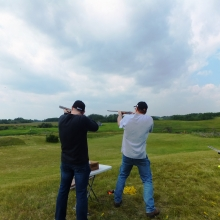Men's Group Trap Shooting July 2014 - Mount Olive Lutheran Church -