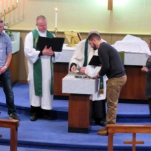 Maximus' Baptism February 10th - 2019