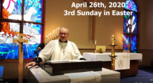 Sunday Service, April 26th, 2020